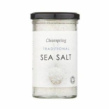 (12 PACK) - Clearspring Traditional Sea Salt  250 g  12 PACK - SUPER SAVER - SAVE MONEY