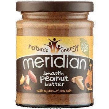 (6 PACK) - Meridian - Nat Smooth Peanut Butter | 280g | 6 PACK BUNDLE