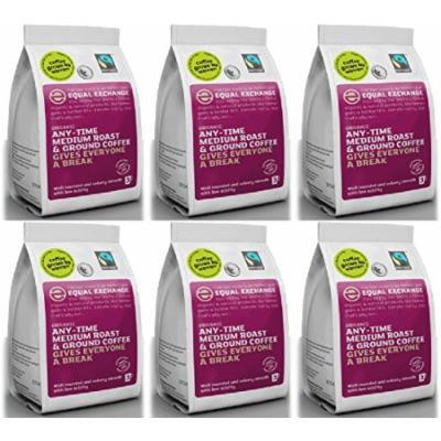 (6 PACK) - Equal Exchange - Org F/T Med Ground Coffee | 227g | 6 PACK BUNDLE