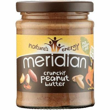 (6 PACK) - Meridian - Crunchy Peanut Butter No Salt MER8 | 280g | 6 PACK BUNDLE