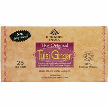 (12 PACK) - Organic India - Org Tulsi Ginger   25 Bag   12 PACK BUNDLE