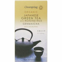 (12 PACK) - Clearspring - Organic Green Tea Genmaicha | 40g | 12 PACK BUNDLE