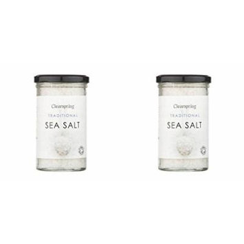 (2 PACK) - Clearspring Traditional Sea Salt  250 g  2 PACK - SUPER SAVER - SAVE MONEY