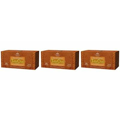 (3 PACK) - Organic India - Org Tulsi Chai | 25 Bag | 3 PACK BUNDLE