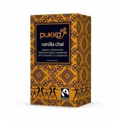 (10 PACK) - Pukka Vanilla Chai Tea| 20 Bags |10 PACK - SUPER SAVER - SAVE MONEY