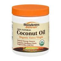 Sundown Naturals 100% Natural Coconut Oil Organic Extra Virgin - 16 oz, Pack of 4