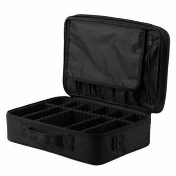 Portable cosmetic organizer bag makeup bag tote bag cosmetic case Large Capacity