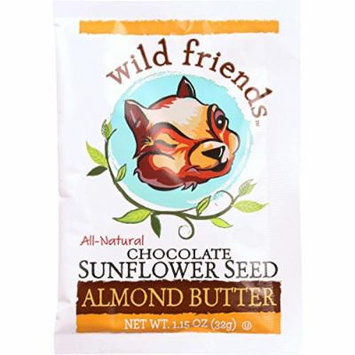 Wild Friends Almond Butter - Chocolate - Single Serve Packets - 1.15 oz - case of 10 - Dairy Free - Yeast Free - Wheat Free-Vegan
