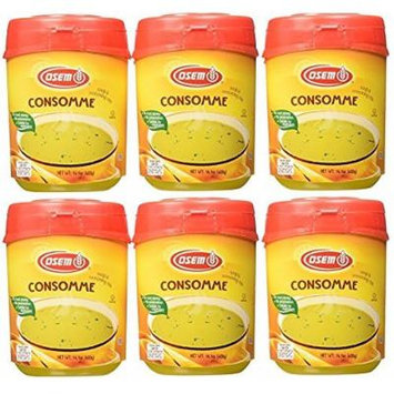 Osem Chicken Soup & Seasoning Mix 14.1 oz, Kosher (Pack of 6)