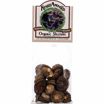 Fungus Among Us Mushrooms - Organic - Dried - Shiitake - 1 oz - case of 8 - 100% Organic - Gluten Free - Dairy Free - Yeast Free - Wheat Free-Vegan
