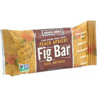 Nature s Bakery Stone Ground Whole Wheat Fig Bar - Peach Apricot - 2 oz - Case of 12 - Dairy Free - Yeast Free - Vegan