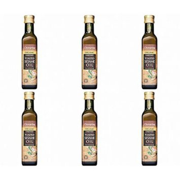 (6 PACK) - Clearspring - Toasted Sesame Oil CLS-SA155   250ml   6 PACK BUNDLE