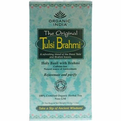 (6 PACK) - Organic India - Org Tulsi Brahmi | 25 Bag | 6 PACK BUNDLE