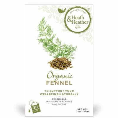 Heath And Heather - Organic Fennel Tea | 20 Bag