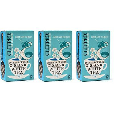 (3 PACK) - Clipper - Organic White Tea | 26 Bag | 3 PACK BUNDLE