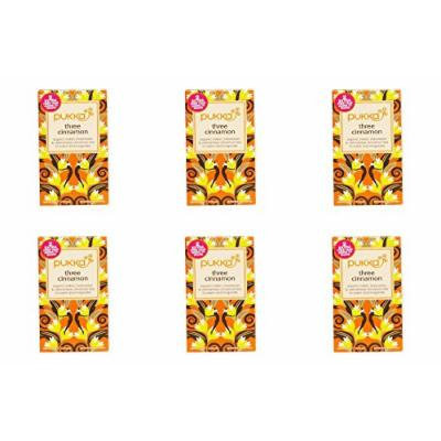 (6 PACK) - Pukka Three Cinnamon| 20 Bags |6 PACK - SUPER SAVER - SAVE MONEY