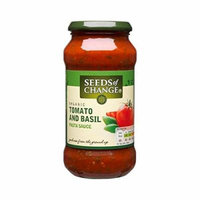 (10 PACK) - Seeds/Ch Tomato & Basil Pasta Sauce| 500 g |10 PACK - SUPER SAVER - SAVE MONEY