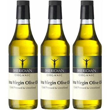 (3 PACK) - Meridian - Org Extra Virgin Olive Oil | 500ml | 3 PACK BUNDLE
