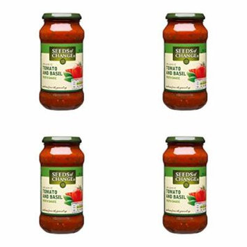 (4 PACK) - Seeds/Ch Tomato & Basil Pasta Sauce| 500 g |4 PACK - SUPER SAVER - SAVE MONEY
