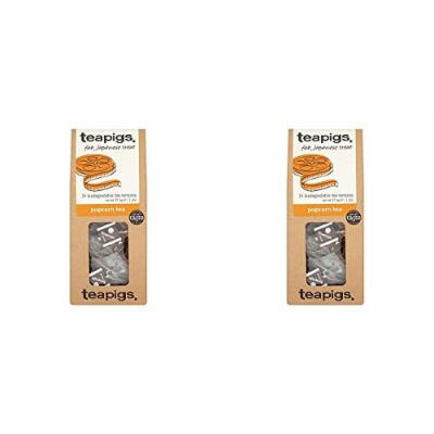 (2 PACK) - Teapigs Popcorn Tea| 15 Bags |2 PACK - SUPER SAVER - SAVE MONEY