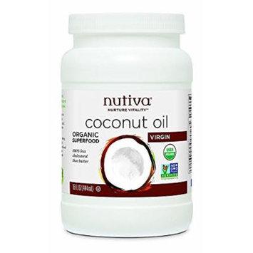 (2 Pack) - Nutiva - Organic Coconut Oil NUT-COC601 | 426g | 2 PACK BUNDLE