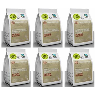 (6 PACK) - Equal Exchange - Org Decaf Ground Coffee   227g   6 PACK BUNDLE