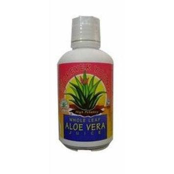 (12 PACK) - Forever/Y Whole Leaf Aloe Vera Juice | 1Ltr | 12 PACK - SUPER SAVER - SAVE MONEY