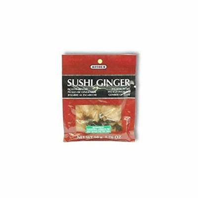 (10 PACK) - Clearspring Sushi Ginger| 50 g |10 PACK - SUPER SAVER - SAVE MONEY