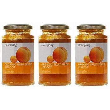 (3 PACK) - Clearspring - Org Fruit Spread Apricot | 290g | 3 PACK BUNDLE