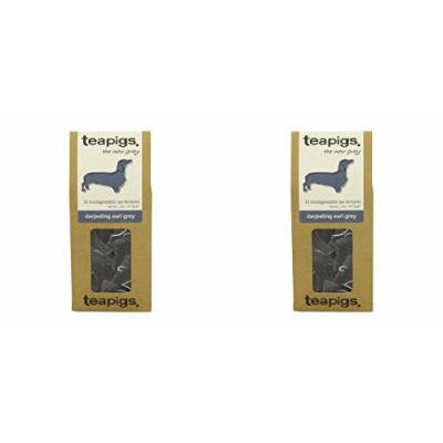 (2 PACK) - Teapigs Darjeeling Earl Grey Tea| 15 Bags |2 PACK - SUPER SAVER - SAVE MONEY