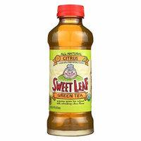 Sweet Leaf Tea Iced Green Tea - Citrus - Case of 12 - 16 Fl oz.