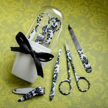 Pretty Damask Design Manicure Sets pack of 18
