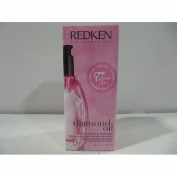Redken Diamond Oil Glow Dry 100 ml / 3.4 oz-PACK OF 4