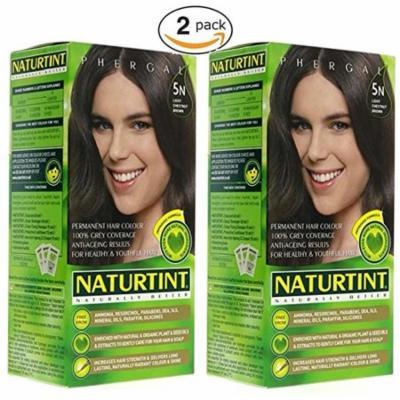 5N Light Chestnut Brown Naturtint Naturally Better 5.6 Fl oz (2 Pack)