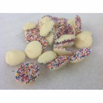 Asher's Nonpareils Gourmet White Chocolate Candy nonpareil 1 pound