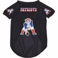 New England Patriots Dog Pet Mesh Throwback Jersey MEDIUM