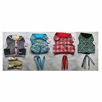 FASHION PRINT No Choke XL Harness Vests For Dogs - Smaller Dog Vest Harnesses