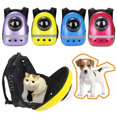 Girl12Queen Pet Cat Dog Puppy Outdoor Carrier Travel Bag Space Capsule Breathable Backpack