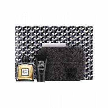 Guerlain L'Homme Ideal 3.3 oz edt+ 2.5 gel+ bag Mens Gift Set NIB