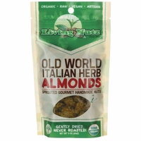 Living Nutz Old World Italian Herb Almonds 3 oz Pkg