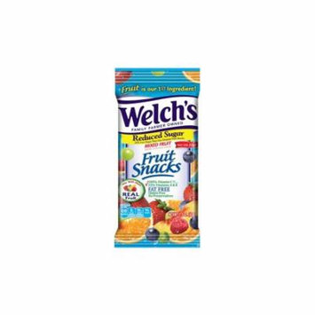 Welch's Reduced Sugar Mixed Fruit Snacks, 144 Count