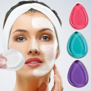 DZT19684 Colour Silicone MakeUp Sponge Cosmetic Puff Applicator Tool Foundation Blender