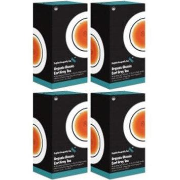 (4 PACK) - Dragonfly Tea - Organic Classic Earl Grey | 20 sachet | 4 PACK BUNDLE