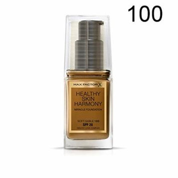 Max Factor Healthy Skin Harmony Miracle Foundation - 100 Soft Sable