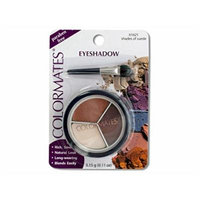 Colormates Shades of Suede Eye Shadow Compact - Pack of 32