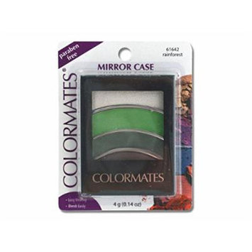 Colormates Rainforest Mirror Case Eye Shadow - Pack of 24