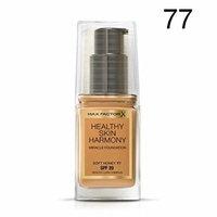 3 x Max Factor Healthy Skin Harmony Miracle Foundation - 77 Soft Honey