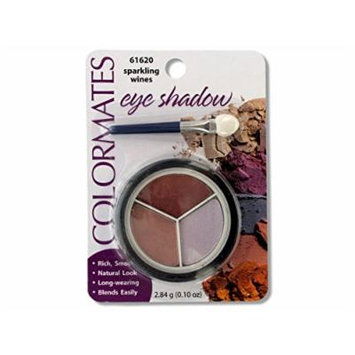 Colormates Sparkling Wines Eye Shadow Compact - Pack of 32