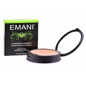 Emani Cosmetics Pressed Mineral Foundation Golden N20 #1004