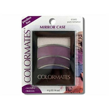 Colormates Pure Romance Mirror Case Eye Shadow - Pack of 24